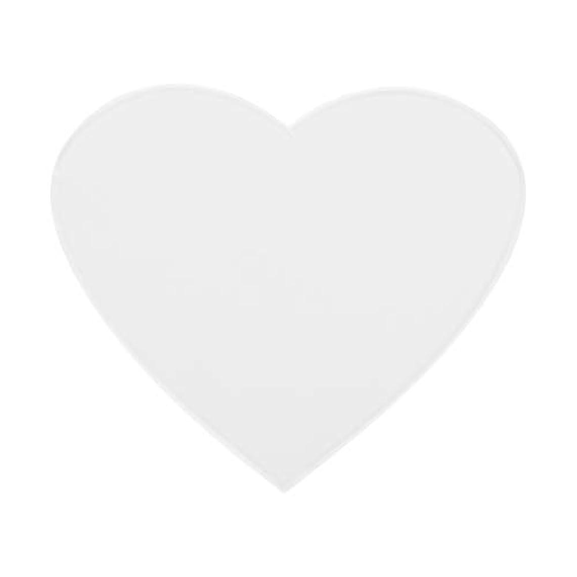 かまど単なるより多いアンチリンクルシリコンチェストパッドケア再利用可能パッド(心臓)