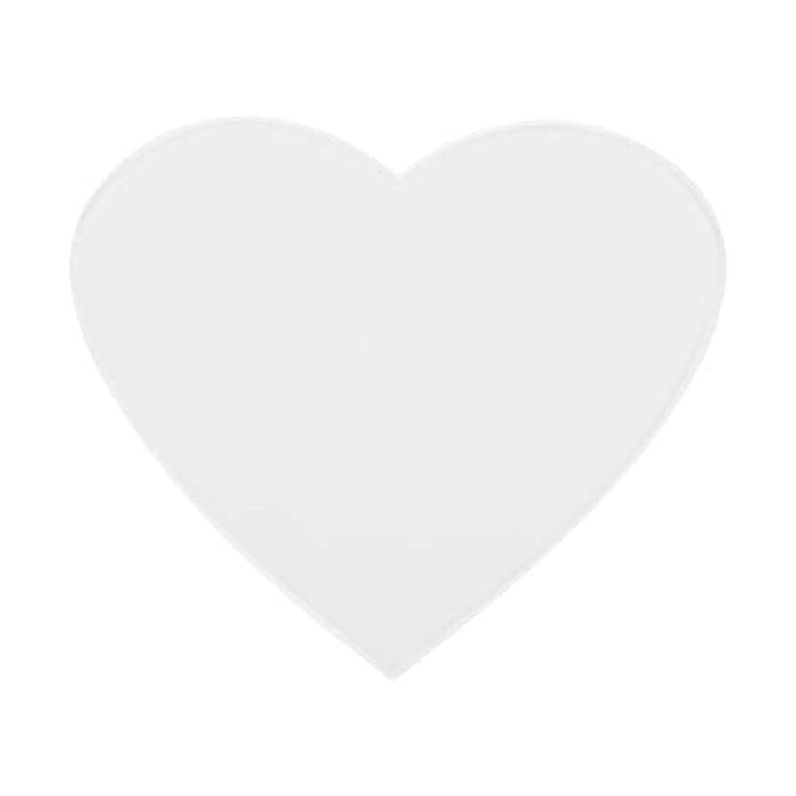 モスク修正するボイドアンチリンクルシリコンチェストパッドケア再利用可能パッド(心臓)
