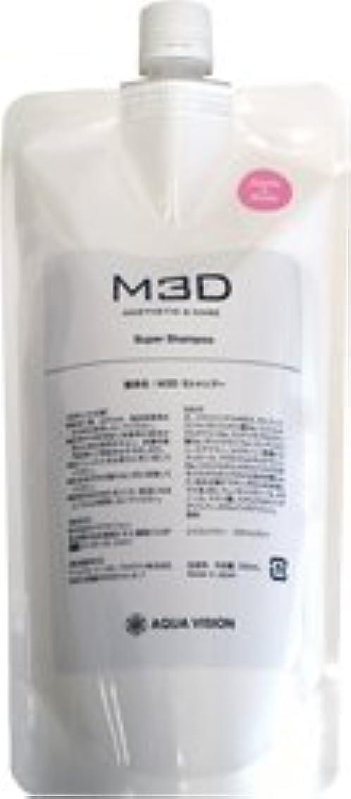 破壊カップ素晴らしいですM3D スーパーシャンプー アップルローズ 詰め替え用リフィル 500ml