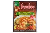 Bamboe bumbuソト・アヤム(イエローチキンスープ調味料) - 1.4oz [3パック]