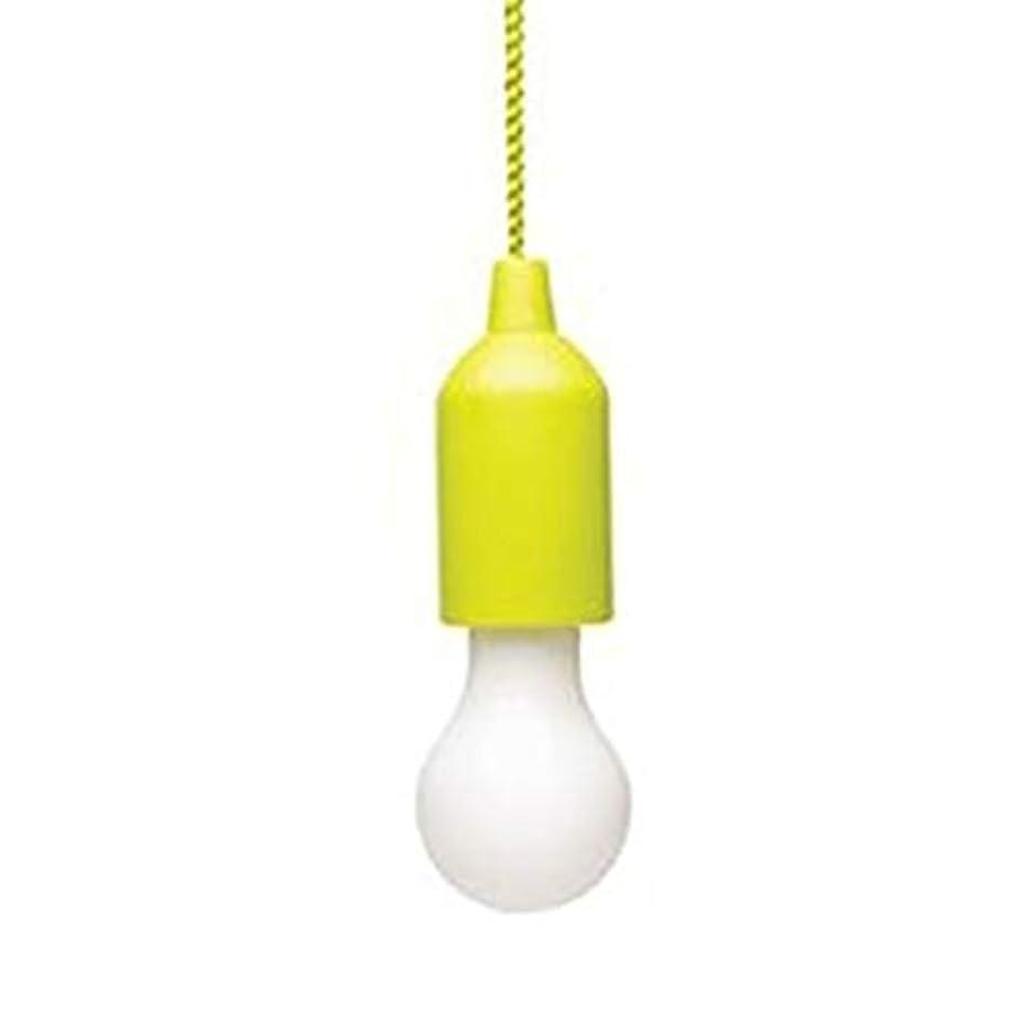 断言する不潔引数カラフルなLED電球シャンデリアポータブルLEDプルコード電球屋外ガーデンキャンプハンギングLEDライトランプ-黄色のマルチカラーライト