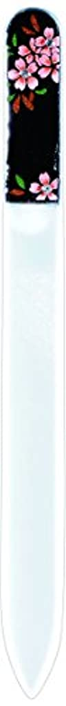 寛大なお風呂を持っているかける橋本漆芸 ブラジェク製高級爪ヤスリ スワロフスキー桜 OPP