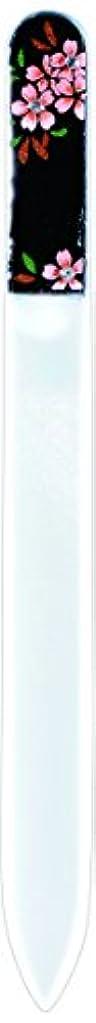 ペルソナ驚半球橋本漆芸 ブラジェク製高級爪ヤスリ スワロフスキー桜 OPP