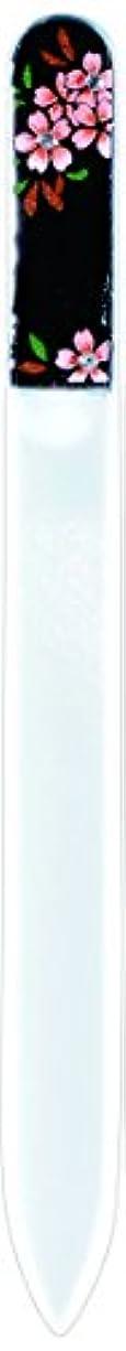 メディア調停者唯物論橋本漆芸 ブラジェク製高級爪ヤスリ スワロフスキー桜 OPP