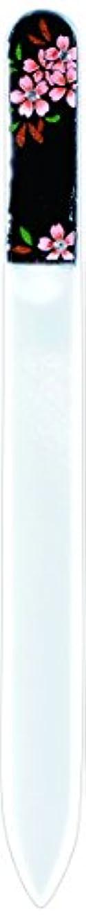 ビールゲージ適用済み橋本漆芸 ブラジェク製高級爪ヤスリ スワロフスキー桜 OPP