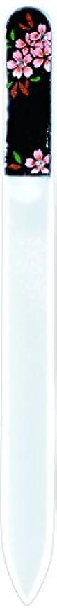 不機嫌オーバーラン殺人者橋本漆芸 ブラジェク製高級爪ヤスリ スワロフスキー桜 OPP