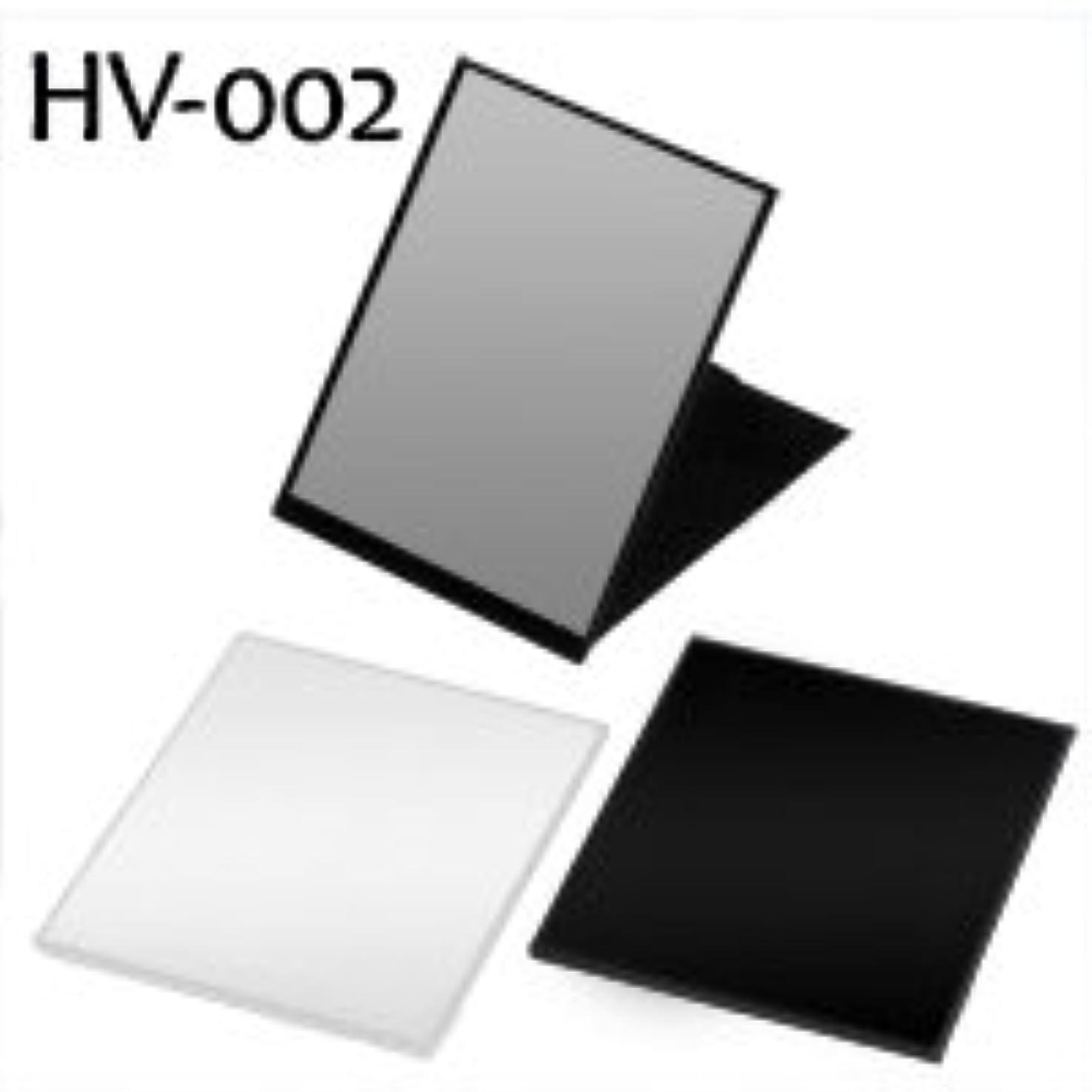 枠経験添付ハイパービュースリム&ライトコンパクトミラー(L) HV-002 ブラック
