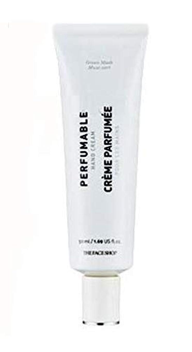 ピービッシュワンダー名前で[ザ・フェイスショップ] THE FACE SHOP [パフューム ハンドクリーム - グリーン マスク50ml] Perfumable Hand Cream - Green Musk 50ml [海外直送品]