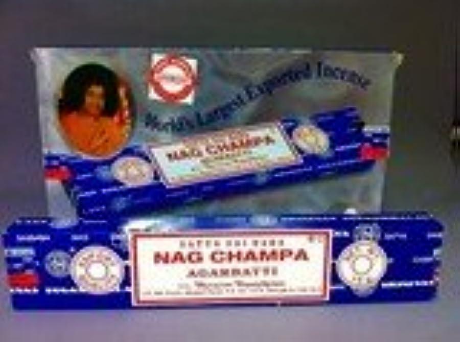 商品夕食を作るへこみサイババ ナグチャンパ香 15g (12箱セット)