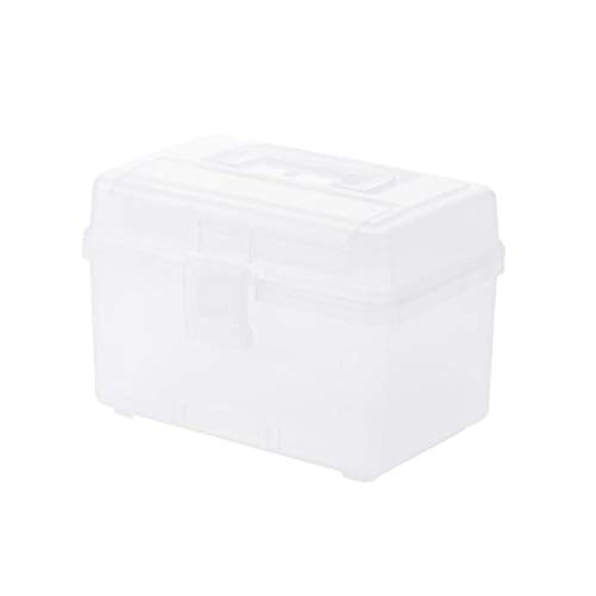 証言するお嬢する必要があるYYFRB ポータブル薬箱、プラスチック製の小さな薬箱、家庭用薬の収納ボックス用の多層収納ボックス 医学パッケージ (Color : C)