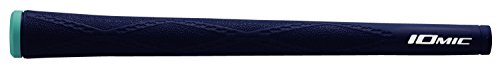 IOMIC(イオミック) ゴルフグリップ X-Evolution M60 バックライン無 ネイビー X-Grip Series ベース:ネイビー エンド:スカイブルー M60
