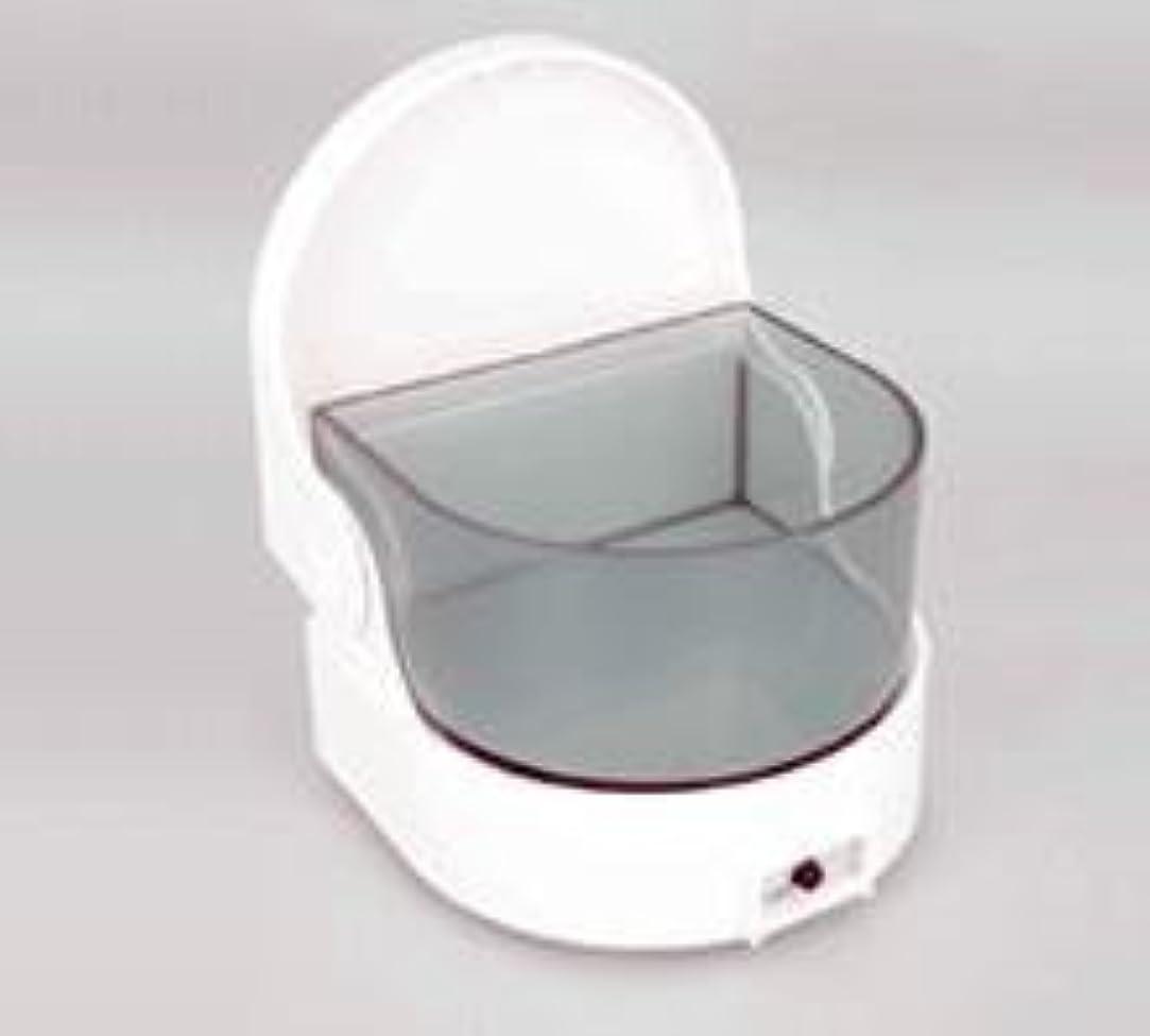 順番置くためにパック組み込む義歯洗浄保存容器 ピュア デンチャークリーナー タイマー付