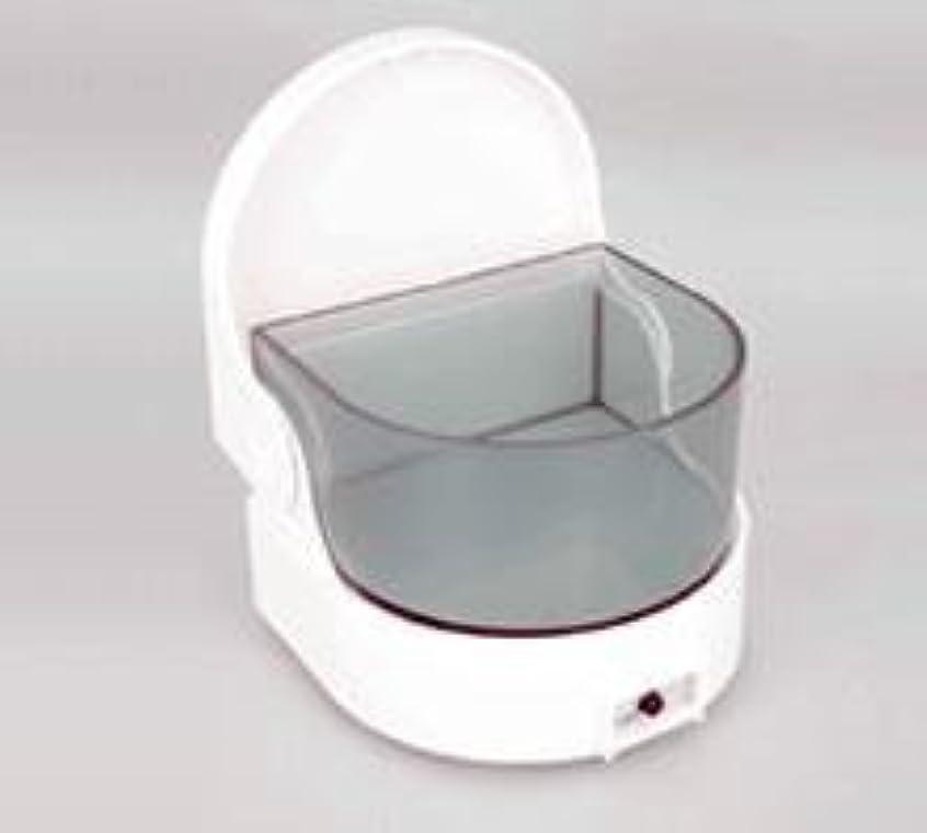 おとなしいぎこちない唯一義歯洗浄保存容器 ピュア デンチャークリーナー タイマー付