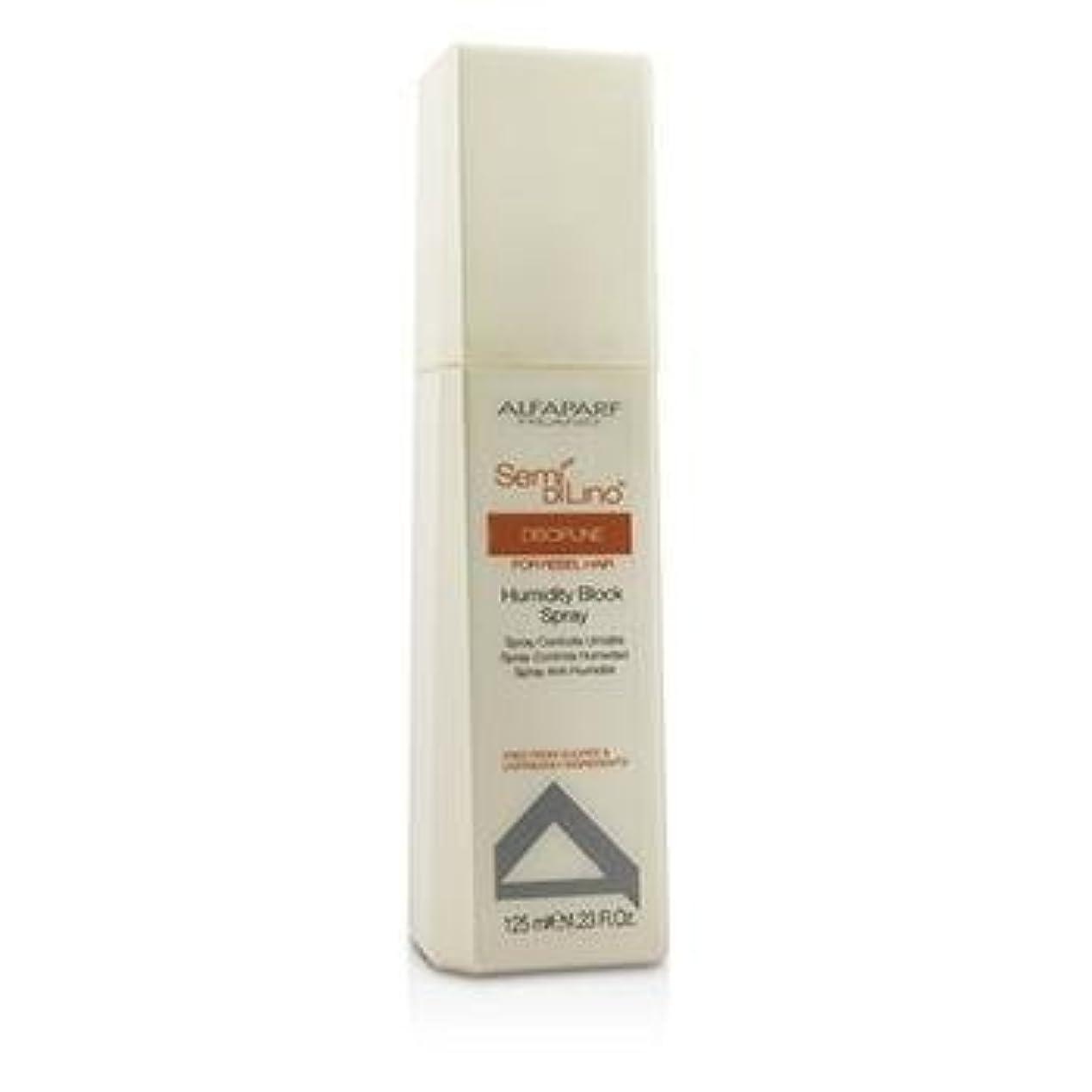 眉をひそめる綺麗な退屈なアルファパルフ Semi Di Lino Discipline Humidity Block Spray (For Rebel Hair) 125ml