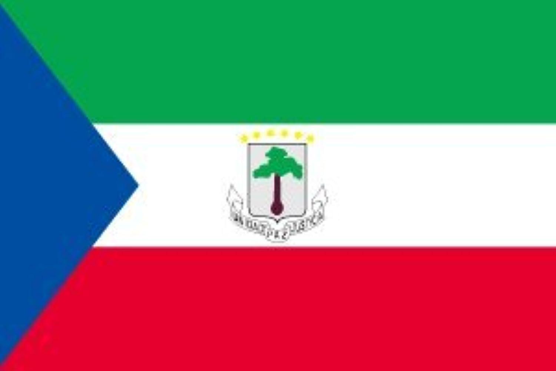 世界の国旗 赤道ギニア 国旗 [120×180cm 高級テトロン製]