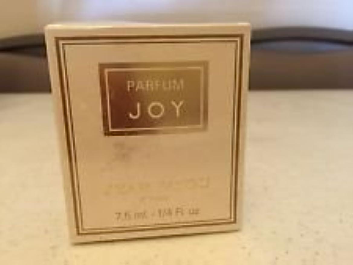 音声学流体ファックスJoy (ジョイ) 0.25 oz (7ml) Parfum (純粋香水) by Jean patou (ジャンパトウ)