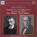 エーリヒ・クライバー&プフィッツナー指揮 べートーヴェン交響曲第2番&第4番の商品写真