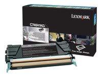 LEXMARK LEXC746H1KG LEXMARK BR C746N - 1-HI RTN PROG BLACK by Lexmark