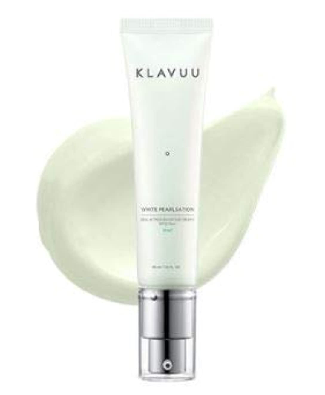振り返る遅滞偽善[KLAVUU] WHITE PEARLSATION Ideal Actress Backstage Cream SPF30 PA++女優クリーム #MINT [並行輸入品]