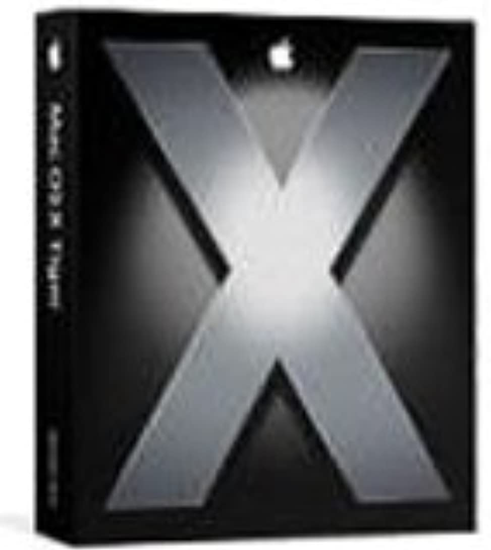 癌せがむ実り多いMacOS X v10.4.3 Tiger