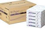 フジゼロックス 「FUJI XEROX」 コピー用紙 プリンター用紙 W-Paper A4 500枚× 10冊 1箱