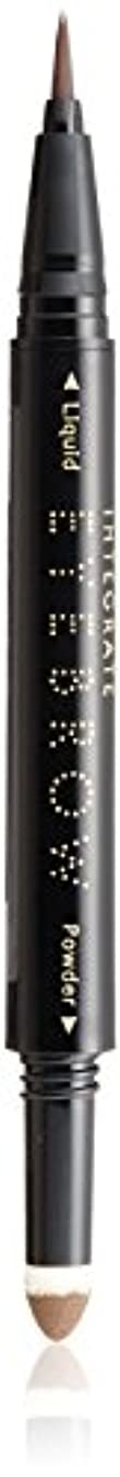 スペルハントミッションインテグレート ビューティーガイド アイブロー N BR671 ナチュラルブラウン (ウォータープルーフ) リキッド 0.4mL パウダー 0.4g