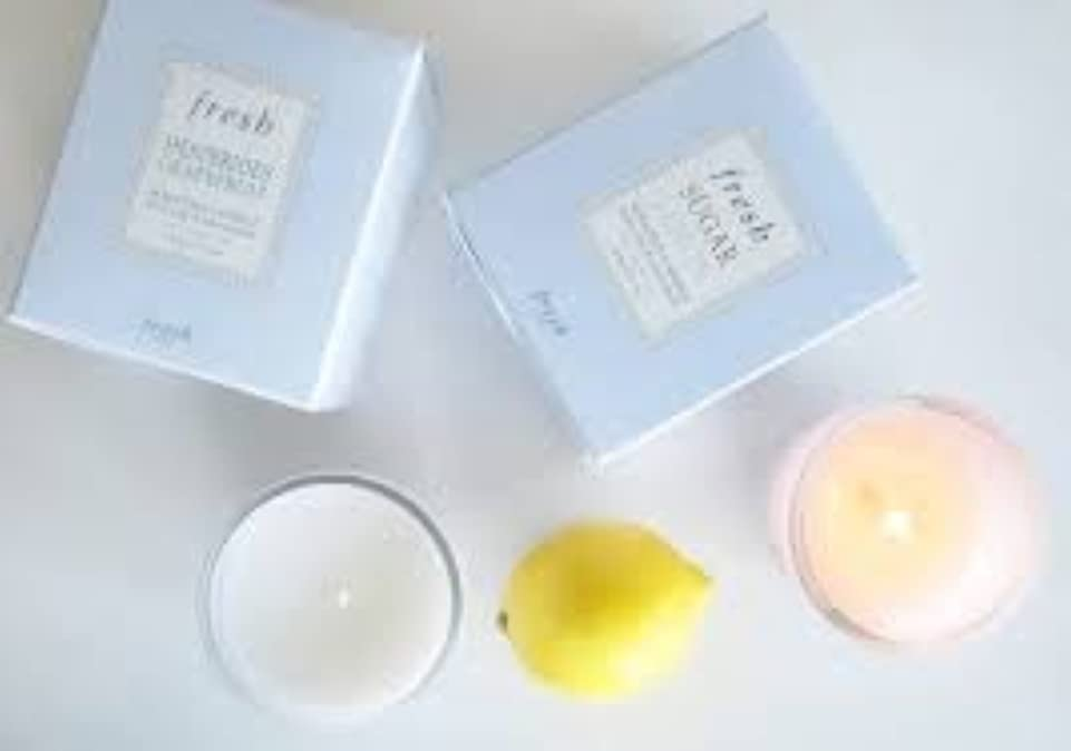 マーティンルーサーキングジュニア生産的ノイズFresh Life (フレッシュ ライフ) 1.0 oz (30g) Scented Candle (香りつきキャンドル)
