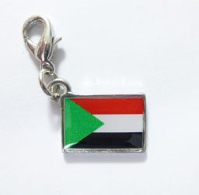 NATIONALFLAG 国旗柄ファスナーホルダー スーダン