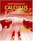 Cover of Calculus: Single Variable Student Solutions Manual