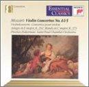 Mozart: Violin Concertos nos 4, 5 / Zukerman, St Paul CO
