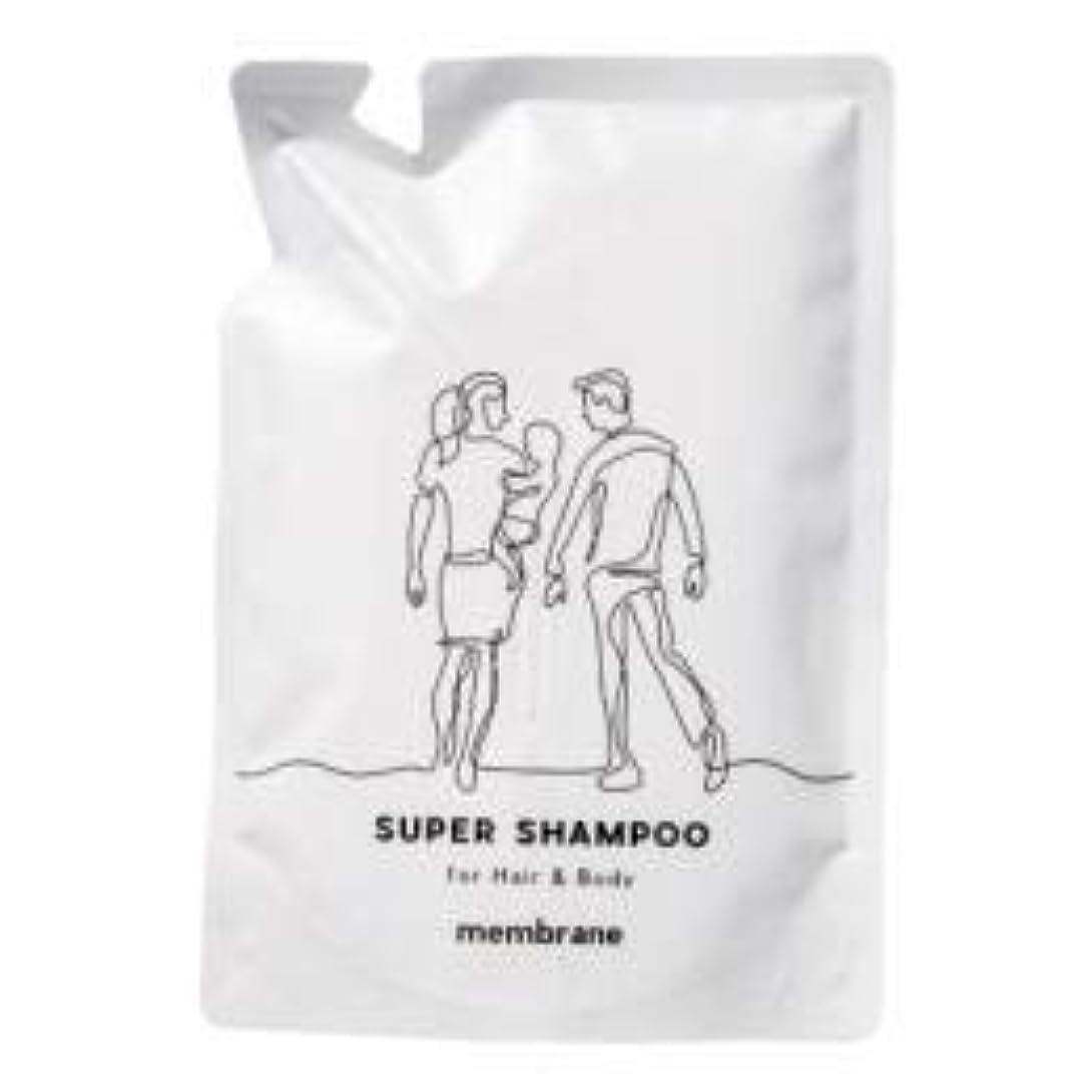パイント仮定する気質CAC化粧品 メンブレン スーパーヘアー&ボディシャンプー 400ml(詰め替え用)