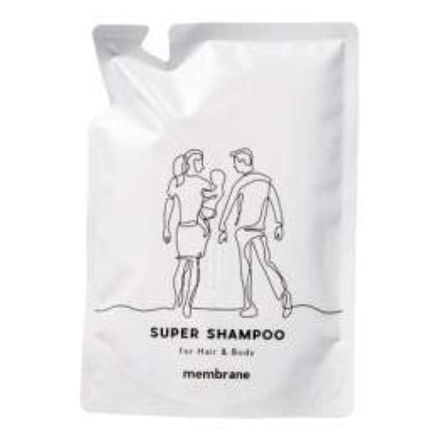 意味のあるつかの間火山学者CAC化粧品 メンブレン スーパーヘアー&ボディシャンプー 400ml(詰め替え用)