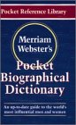 Merriam-Webster's Pocket Biographical Dictionary (Pocket Reference Library)