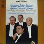 ベートーヴェン:三重協奏曲Op.56、ブラームス:二重協奏曲Op.102、Pf三重奏曲2番Op.87