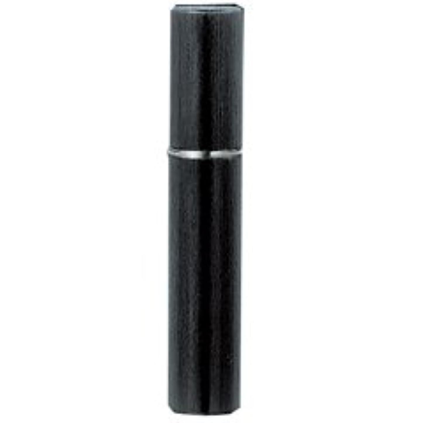 フレア複雑な残酷な【ヤマダアトマイザー】メタルアトマイザー メタルポンプ 18118 15mm径 ヘアライン BK ブラック 3.5ml