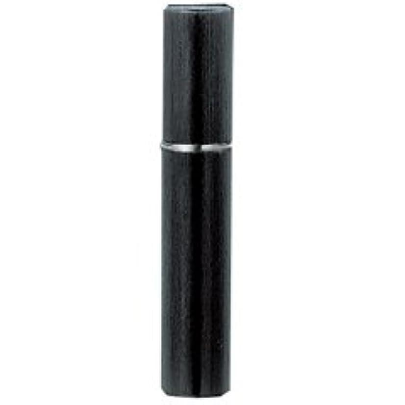 差別的移動少し【ヤマダアトマイザー】メタルアトマイザー メタルポンプ 18118 15mm径 ヘアライン BK ブラック 3.5ml