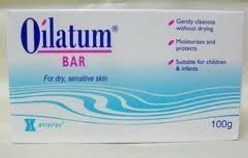 レンダリングアンビエント休日に6 packs of Oilatum Bar Soap Low Price Free Shipping 100g by Oilatum