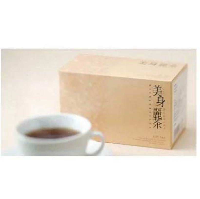 生き返らせる悩む聖なるメール便 美身麗茶 びしんれいちゃ 3g×15包 アップルティー味 ダイエット 健康茶 オーガニック デトックス スリム ヘルシー 美容 スリムボディ 日本製