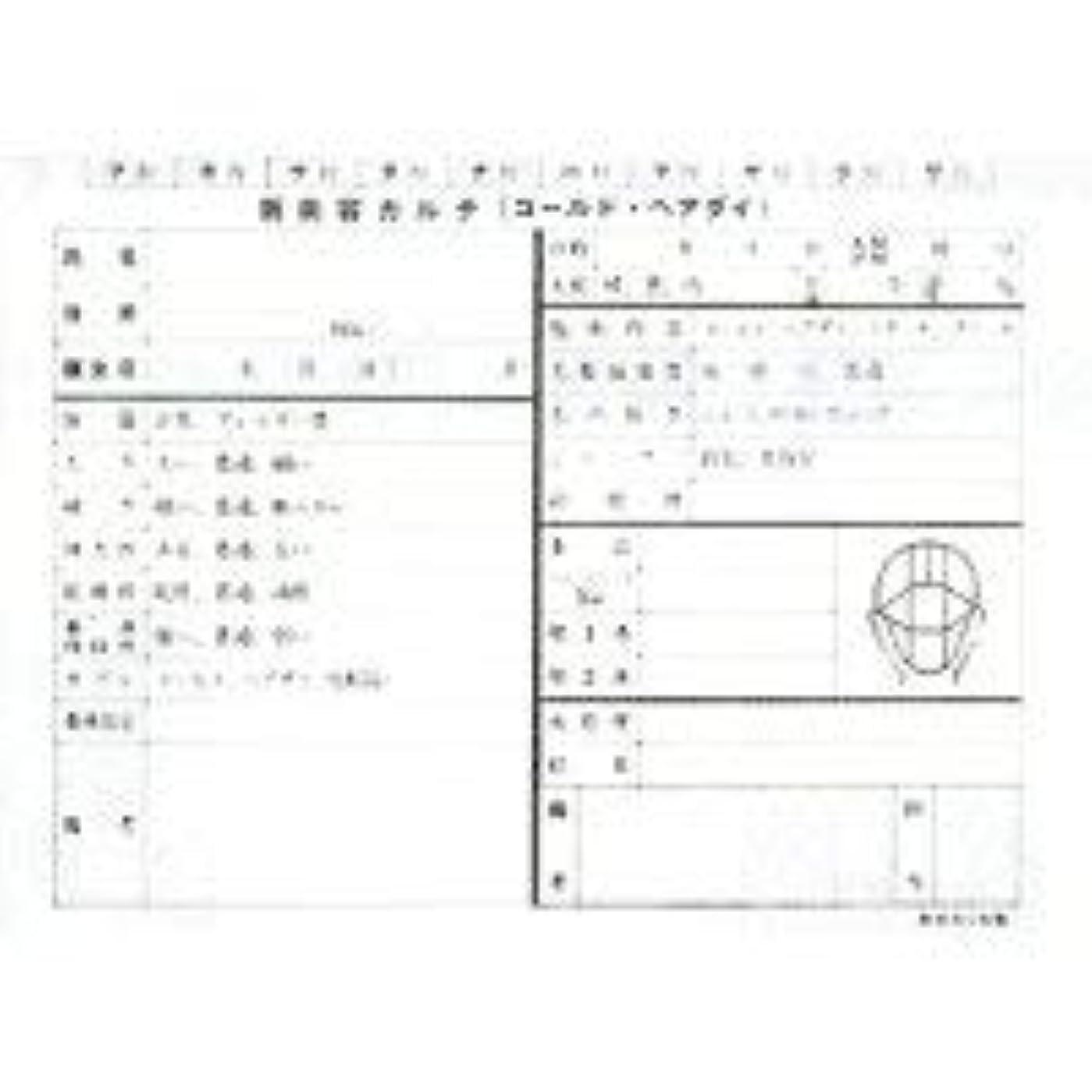 管理者変動するスロー新美容カルテ(1袋100枚入)