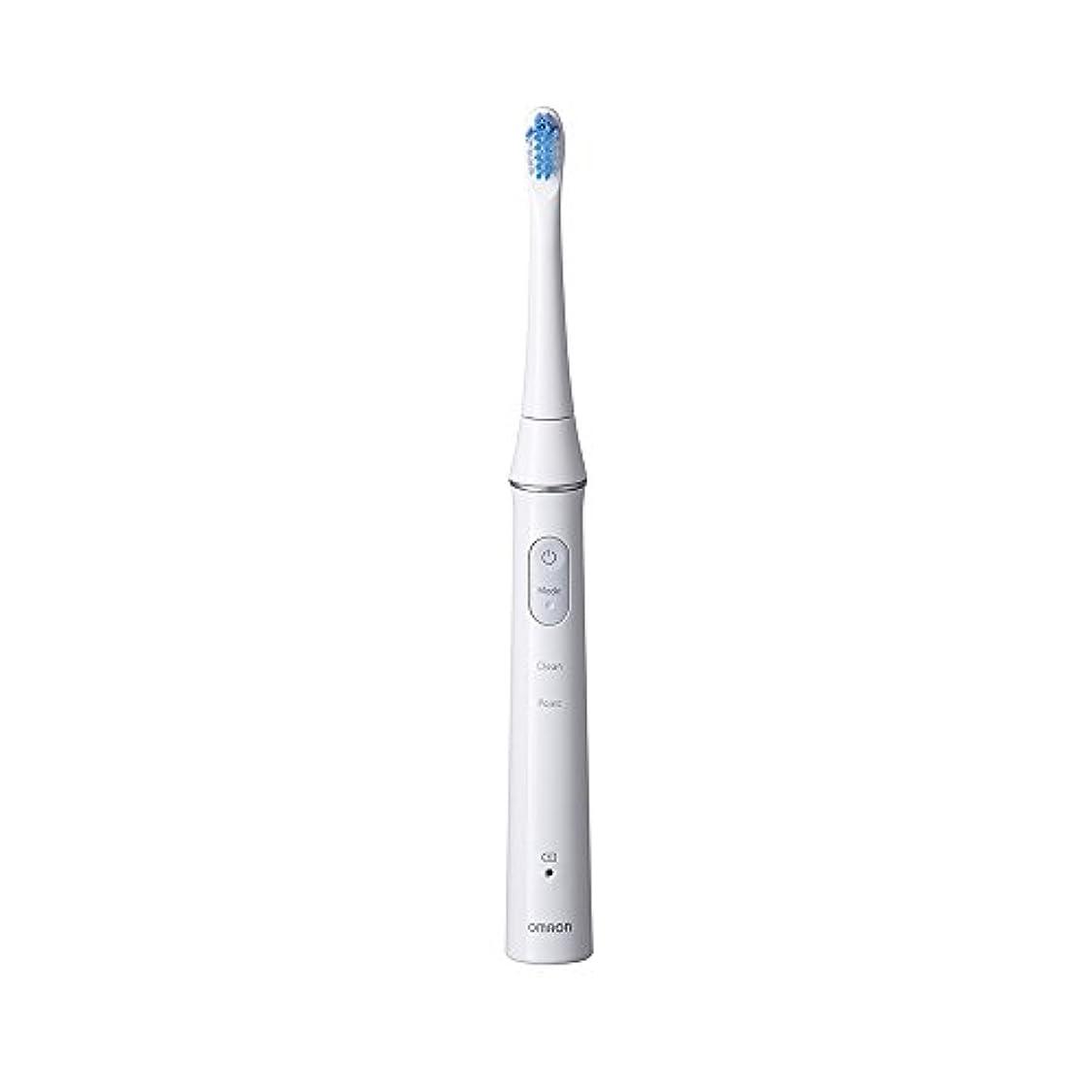 パテ取るに足らないバーストオムロン音波式電動歯ブラシ HT-B313-W