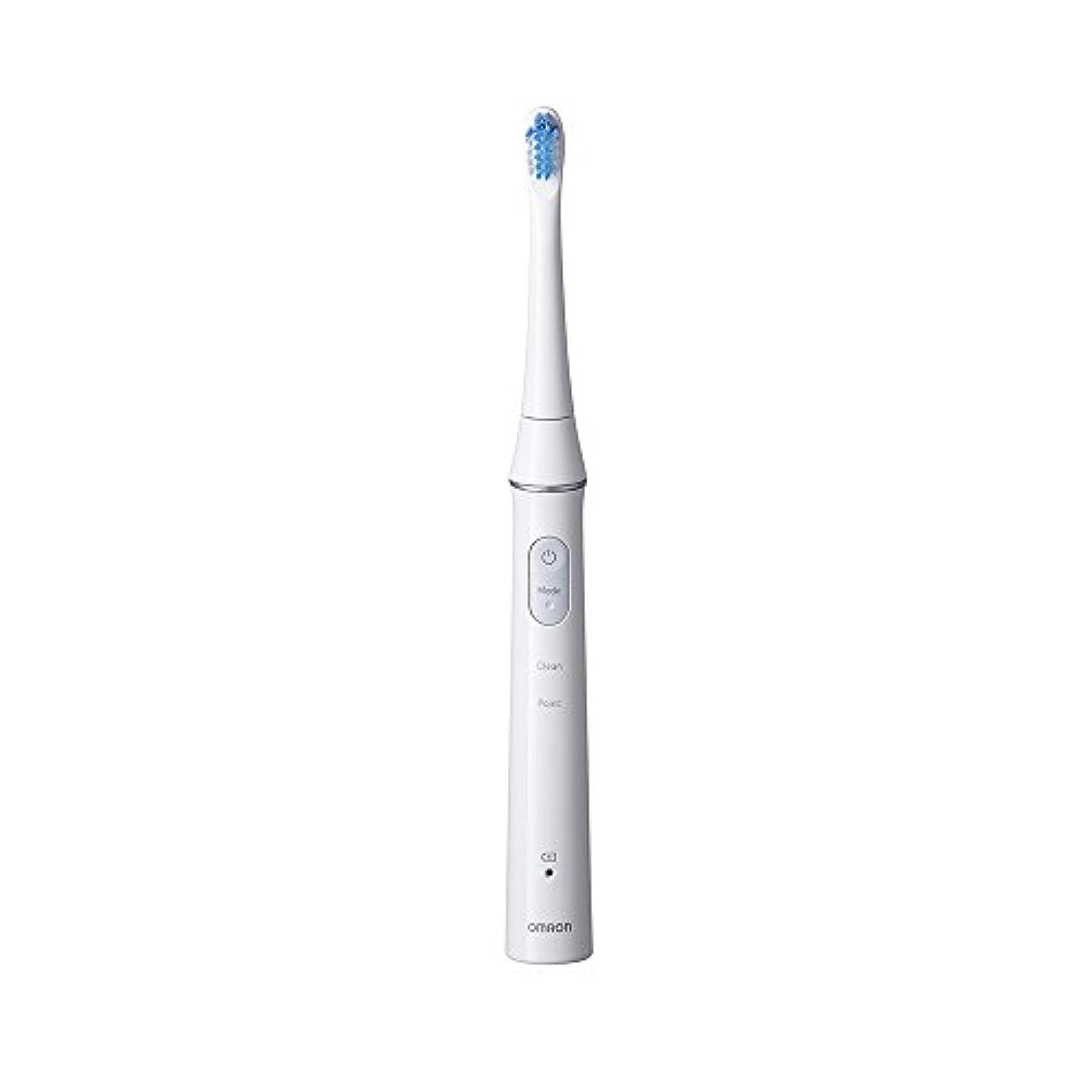 すり高速道路契約したオムロン音波式電動歯ブラシ HT-B313-W