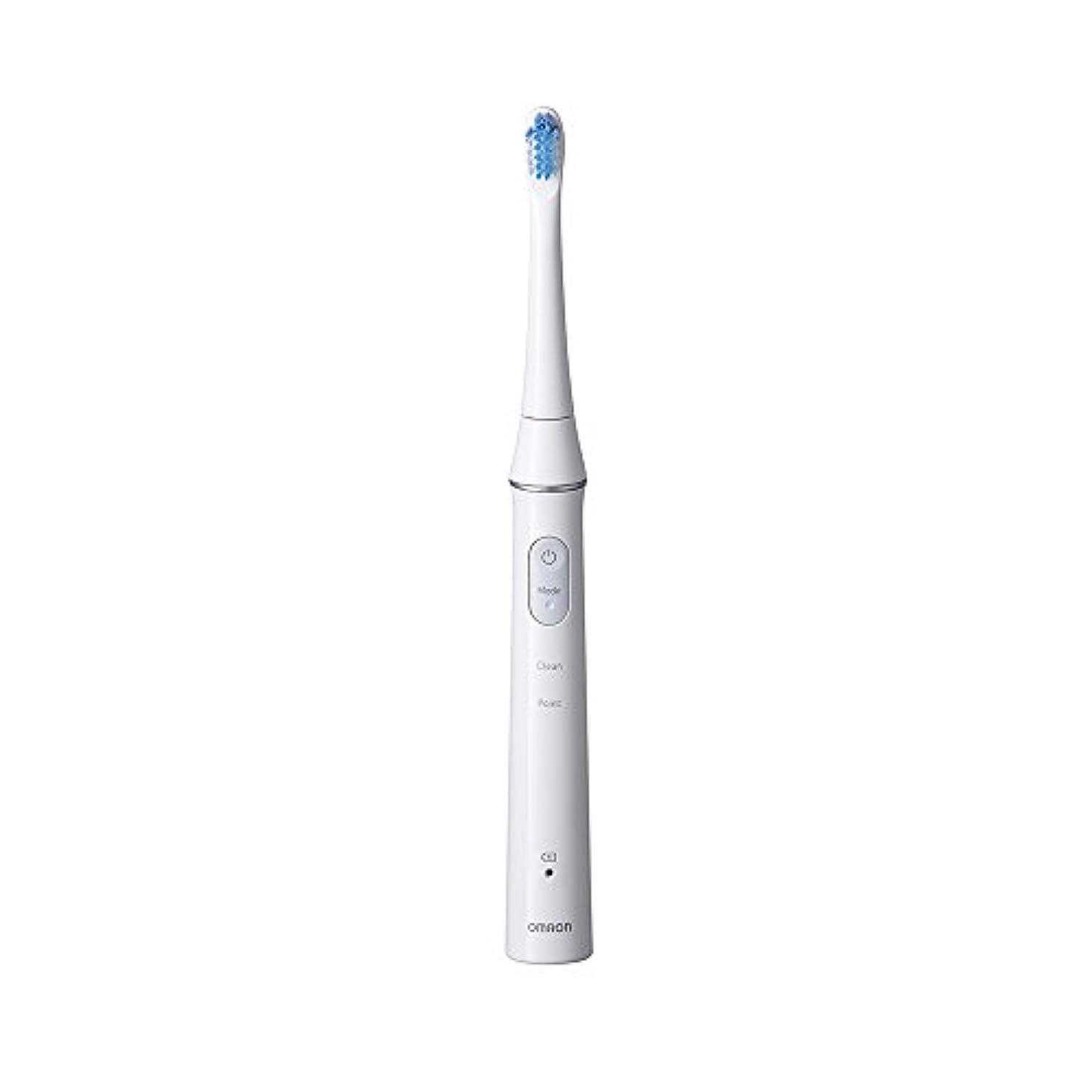 試用更新する不注意オムロン 電動歯ブラシOMRON Mediclean(メディクリーン) 音波式 HT-B313-W