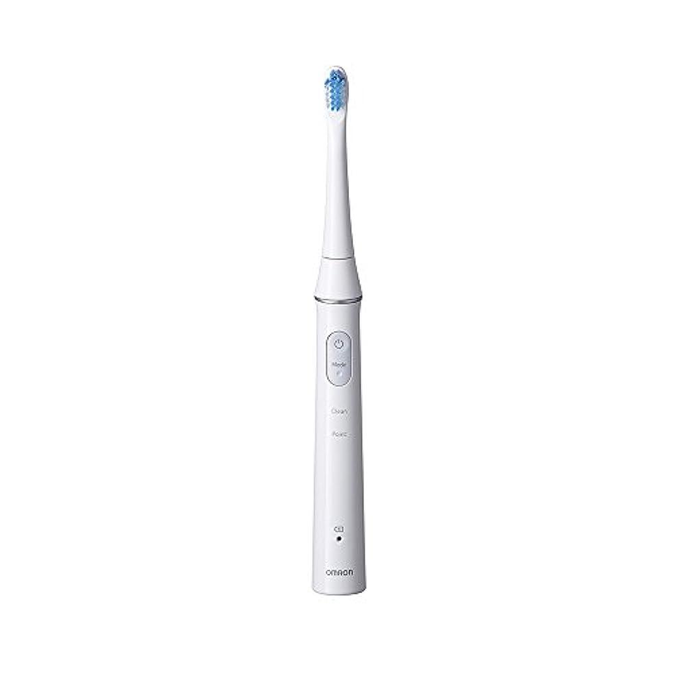 著者不満おしゃれなオムロン 電動歯ブラシOMRON Mediclean(メディクリーン) 音波式 HT-B313-W