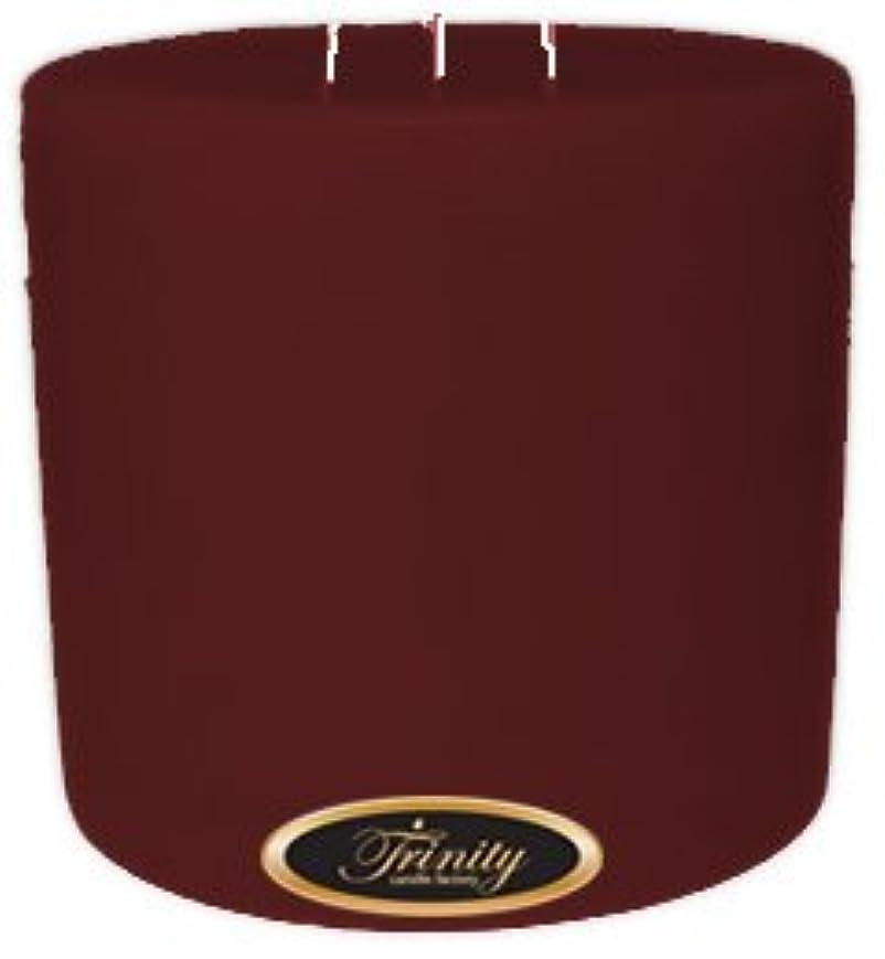 解釈義務付けるTrinity Candle工場 – Mulberry – Pillar Candle – 6 x 6