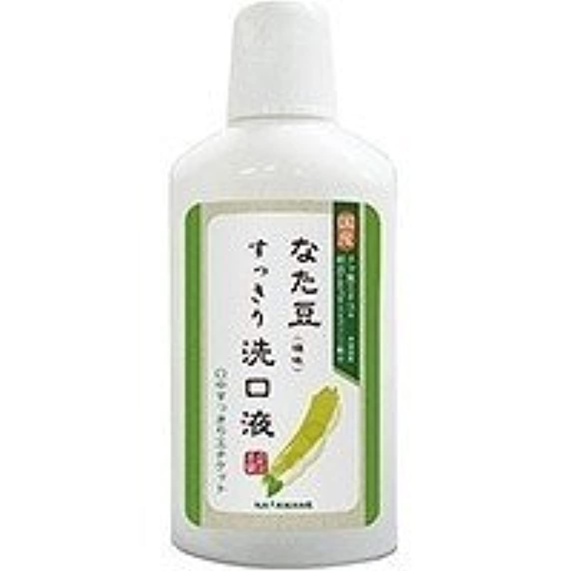 驚き中傷服を片付ける株式会社三和通商 なた豆 すっきり 洗口液(500ml)