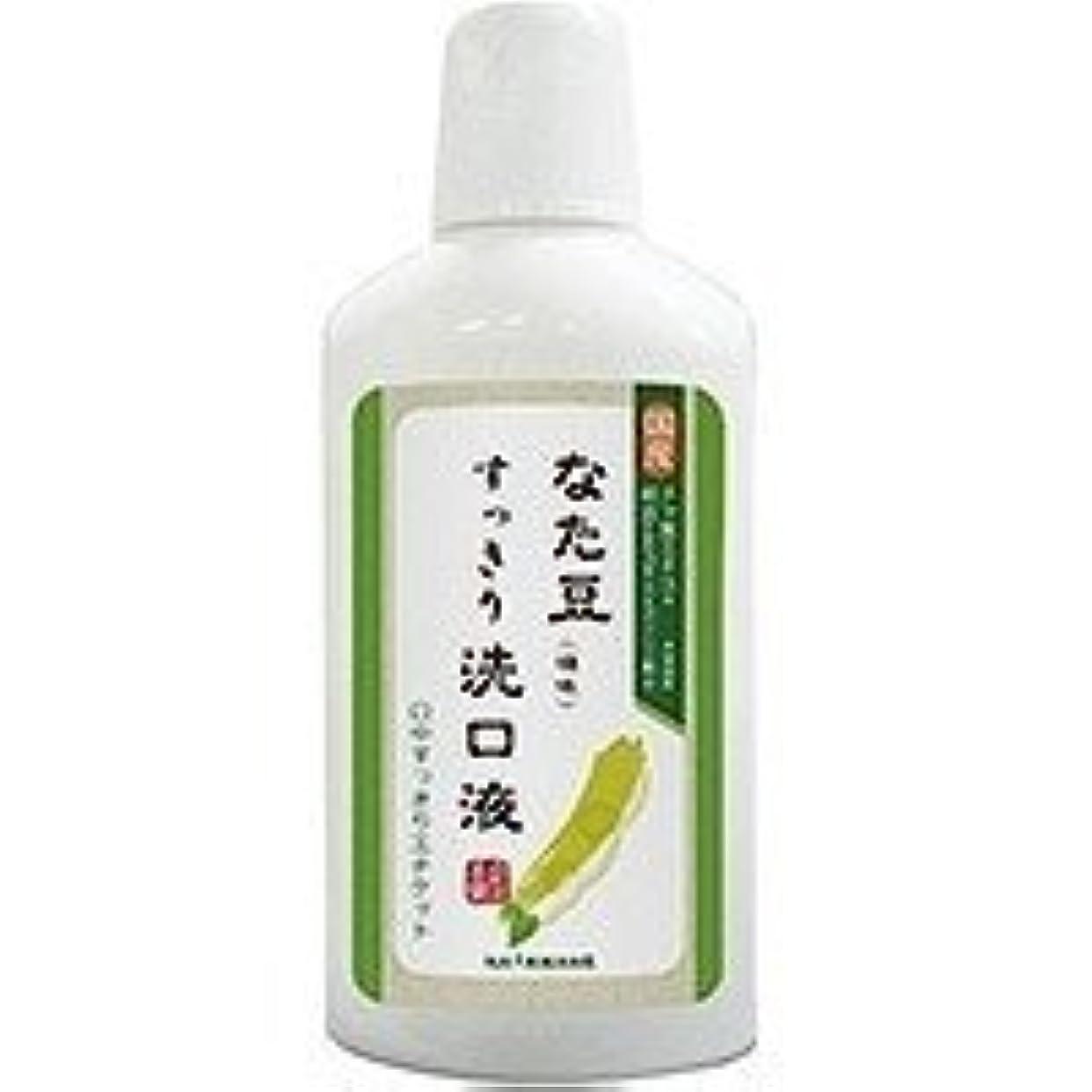 削る休戦計算する株式会社三和通商 なた豆 すっきり 洗口液(500ml)