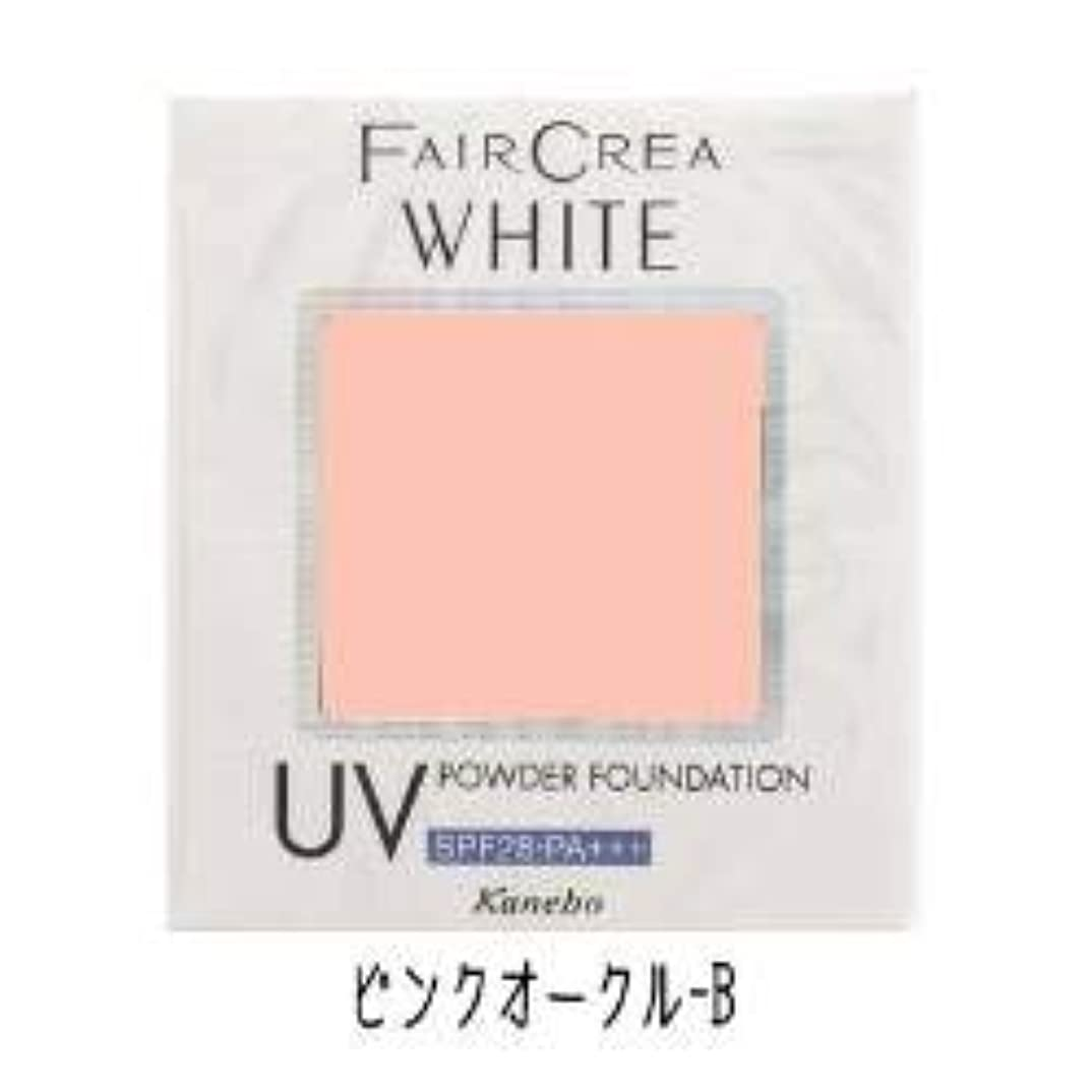 集めるマンモス花瓶カネボウ フェアクレア ホワイトUVパウダーファンデーション ピンクオークル-B(10g)