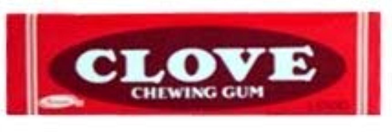 篭スペード暗殺者Clove Gum 20 packs of 5 sticks [並行輸入品]