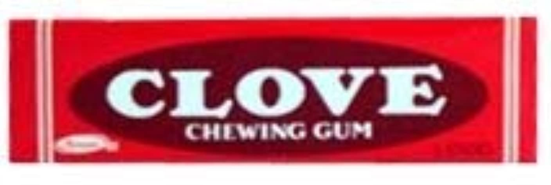 流す仕方結紮Clove Gum 20 packs of 5 sticks [並行輸入品]
