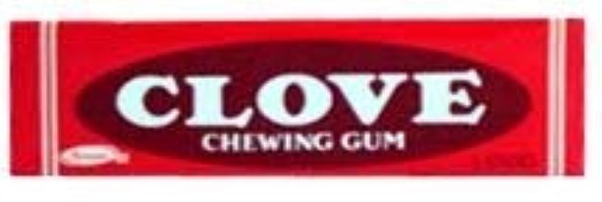 努力並外れて兵士Clove Gum 20 packs of 5 sticks [並行輸入品]